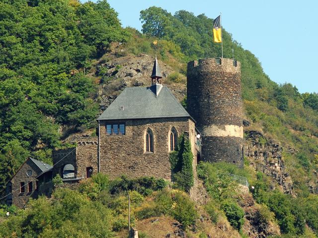 Burg Bischofstein - Lasserg-Münstermaifeld