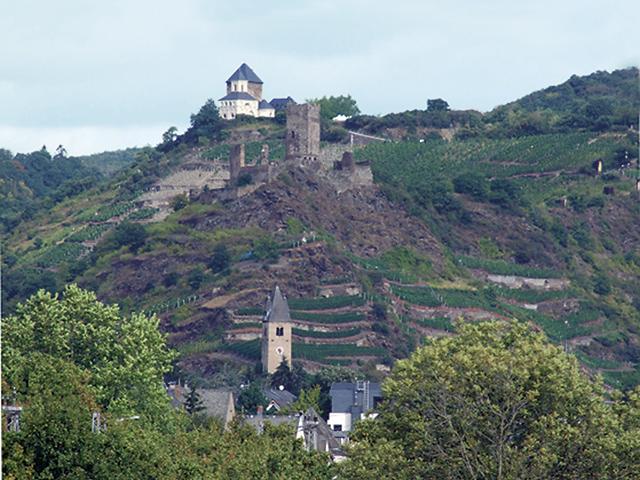 Nieder- und Oberburg mit Matthiaskapelle - Kobern-Gondorf