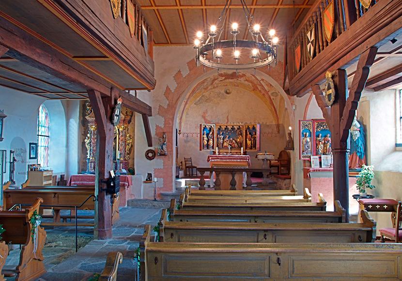 Innenaufnahme der Kirche